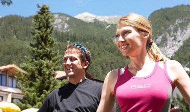 Nordic Walking am Arlberg, Hotel Gridlon