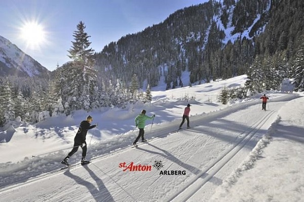 TVB STANTON Cross-country skiing at the Arlberg