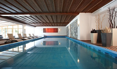 Indoor Pool and Outdoor Pool
